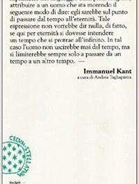 """Immanuel Kant e """"La fine di tutte le cose"""""""